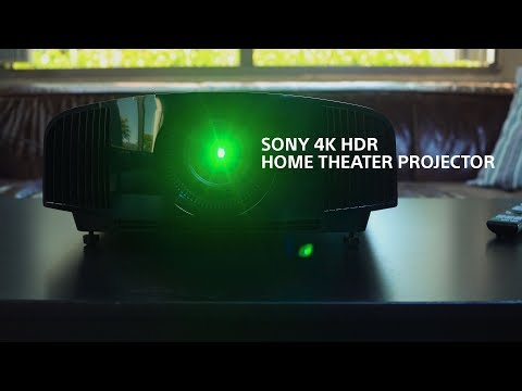 The New Sony VPL-VW285ES 4K