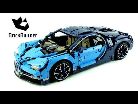Lego Technic 42083 Bugatti Chiron - Lego Speed build