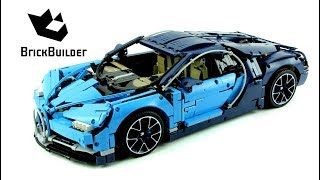 Lego Technic 42083 Bugatti Chiron - Lego Speed build