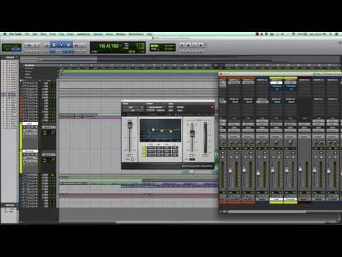 Pro Tools Mixing Template 2018