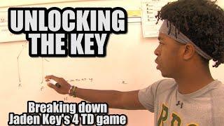 Unlocking the Key |  Breaking Down Jaden Key's 4 TD game