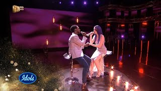 Top 3 Reveal Duet: Micayla & Luyolo  – 'Almost Is Never Enough' – Idols SA | S15 | Mzansi Magic