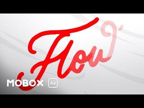 Blob to Text - Adobe After Effects tutorial - смотреть