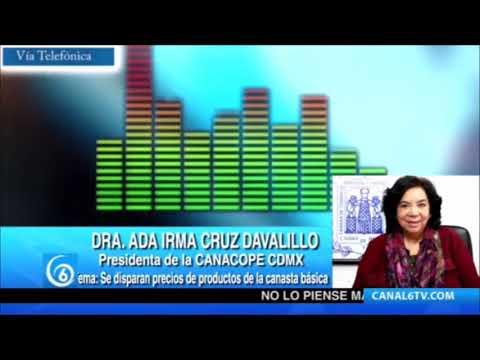 Entrevista con la Dra. Ada Irma Cruz Davalillo, presidenta de la CANACOPE en la CDMX