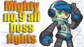 Mighty No.9 All Boss Fights