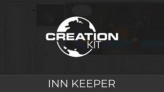 Skyrim Creation Kit Tutorial (Inn Keeper Tutorial)