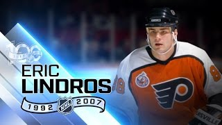 Eric Lindros had unique skill for power forward