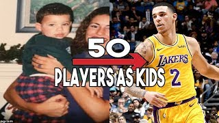 GUESS THESE 50 NBA PLAYERS AS KIDS