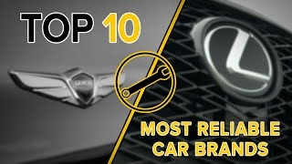 2020 Top 10 Most Reliable Car Brands