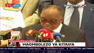 Matinag\'i declares Tuesday 11th February public holiday following the death of Moi