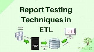 ETL Testing Tutorial : All Techniques in Report Testing