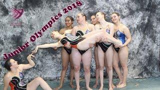 JOs 2018 - A Synchronized Swimming Vlog | Malvina