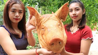 Yummy cooking roasted head pork recipe - Cooking skill