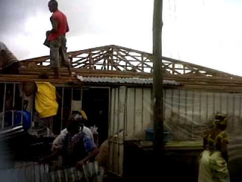 A Family House Brought Down By Men of The Nigeria Army Effurun Barracks