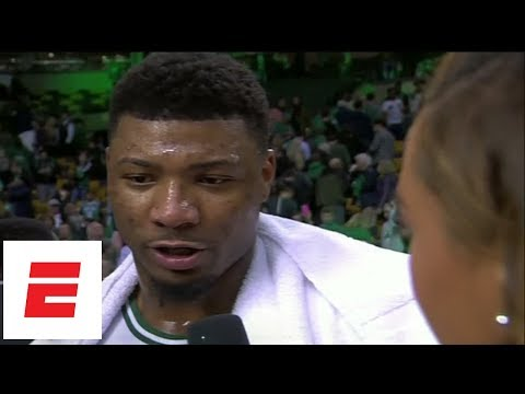 Marcus Smart on coming back for Celtics' Game 5 win over Bucks: 'The doctor did a great job' | ESPN