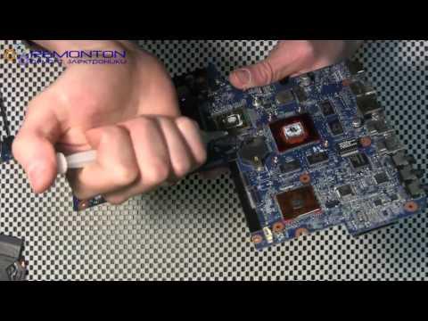 Ремонт ноутбука HP  Замена северного моста