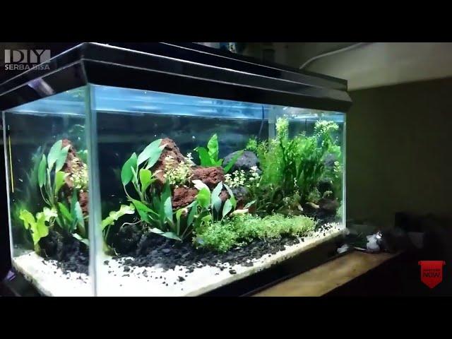 DIY - Cara Membuat Lampu Aquascape Dengan Led 10watt Kali 6   Make laquascape LED lighting