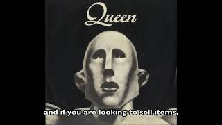 "Latest Queen collectibles, Rare Vinyl Records, 7"", 12"", LPs, CD's & Memorabilia"