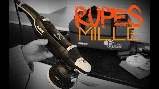 RUPES Mille LK900E Bigfoot Machine Polisher Review Demo