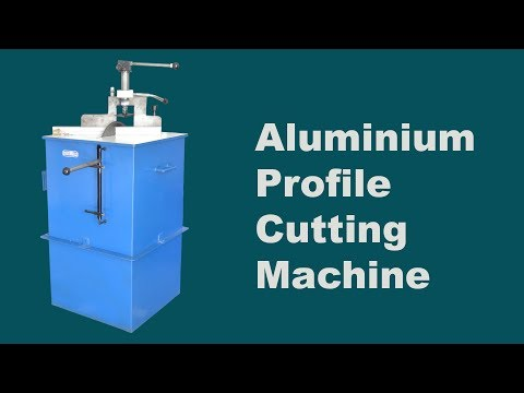Aluminum Section Cutting Machine