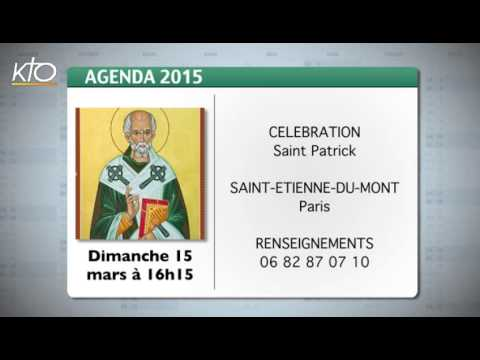 Agenda du 9 mars 2015