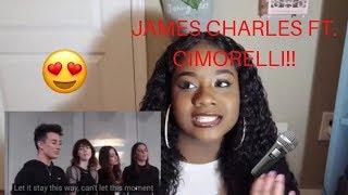 JAMES CHARLES NEVER ENOUGH FT. CIMORELLI....(REACTION VIDEO)