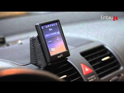 Sprachsteuerung einer Bury Bluetooth Freisprechanlage