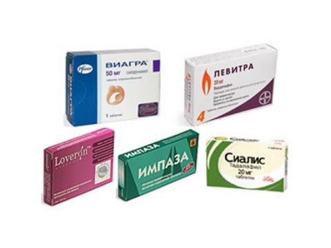 Лекарства для повышения потенции у мужчин