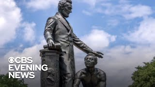 Protesters demand removal of controversial Lincoln statue in D.C.
