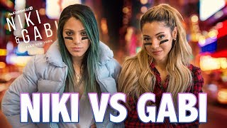 NIKI & GABI SCAVENGER HUNT | Niki and Gabi Take New York EP 1
