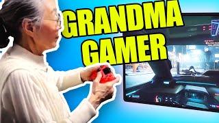 Meet the 90 Year-Old Japanese Gamer Grandma!