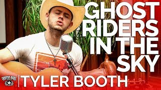 Tyler Booth - Ghost Riders In The Sky (Acoustic Cover) // Country Rebel HQ Session