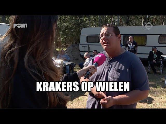 Krakers op wielen