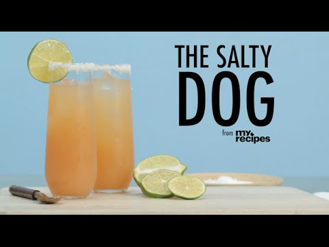 How to Make a Salty Dog Cocktail
