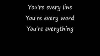 Gambar cover Everything with Lyrics Michael Buble
