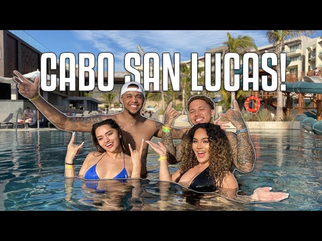 SURPRISE TRIP TO CABO!! w/ JUJU & DES **THE TURNUP IS REAL** 🇲🇽
