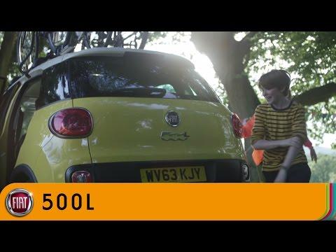 Fiat  500 L Trekking Хетчбек класса B - рекламное видео 2
