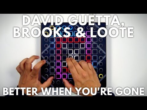 David Guetta, Brooks & Loote - Better When You're Gone // Launchpad Performance - Vitacity