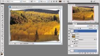 PhotoShop. Как использовать Обтравочную маску.mp4