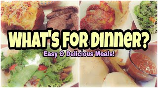 What's For Dinner? | Real Life Meal Ideas | Budget Friendly Dinner Ideas
