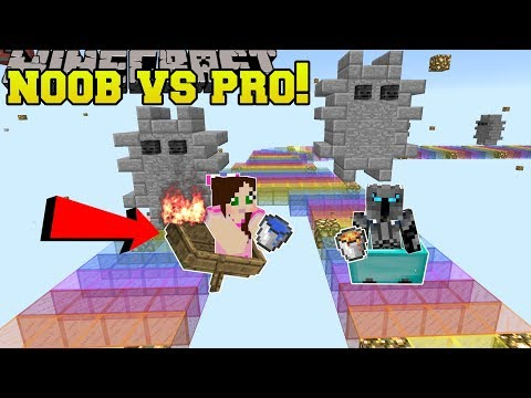 Minecraft: NOOB VS PRO!!! - JEN'S BEST MARIO KART RACES! - Mini-Game