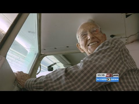 World's Oldest Pilot turns 99-years-old next month