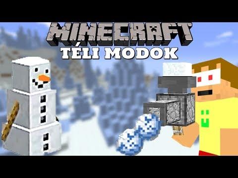 Minecraft: A LEGJOBB TÉLI MODOK! - Mod Bemutató