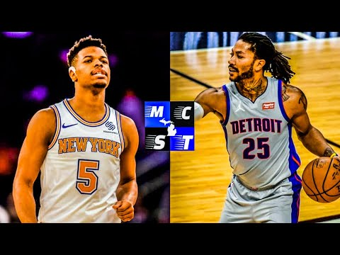 Did Detroit Pistons Get Best Deal For Derrick? | Dennis Smith Jr Still Got it?