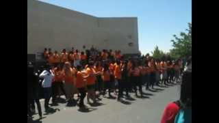 Flash Mob at EHMS!!!!