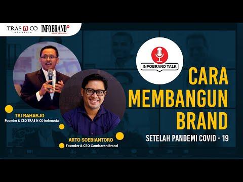 CARA MEMBANGUN BRAND SETELAH PANDEMI COVID-19 Bersama Tri Raharjo & Arto Soebiantoro #INFOBRANDTALKS