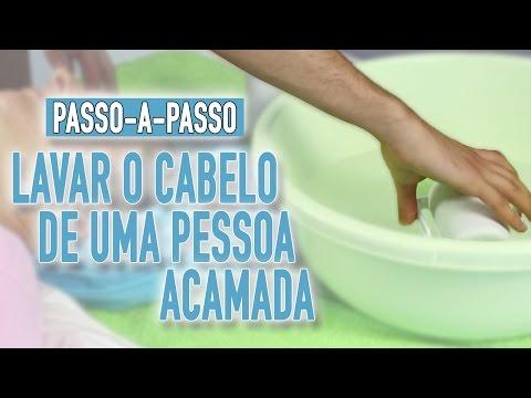 Imagem ilustrativa do vídeo: Como lavar o cabelo de uma pessoa acamada