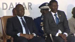 Cérémonie pose première pierre université Amadou Macktar Mbow de Dakar UAM (2me partie)