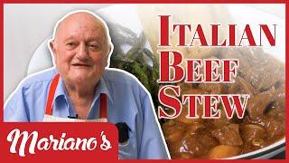 EASY Italian Beef Stew (Spezzatino Di Manzo) Recipe!   Marianos Cooking   S2E5