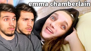 watching EMMA CHAMBERLAIN for the FIRST TIME...